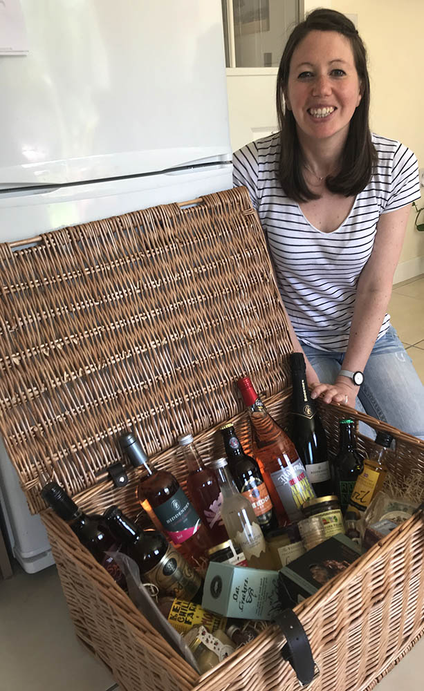 Hamper winner