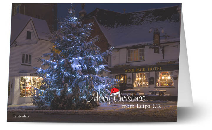 Leipa UK Christmas Card